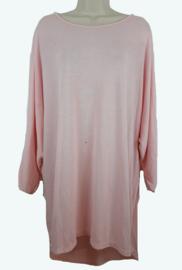 Roze tuniek-jurk