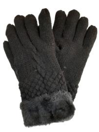 Zwarte handschoenen