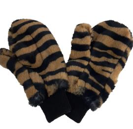 wanten met tijgerprint