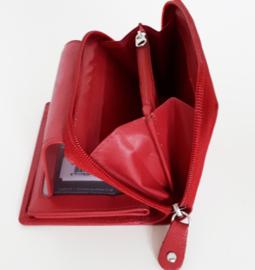 Compact formaat portemonnee met veel ruimte