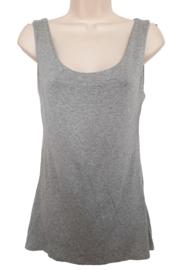 Gevoerd stretch hemd, kleur grijs