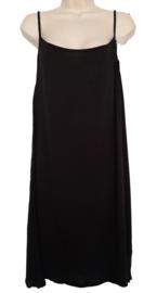 Lang zwart hemd / onderjurk