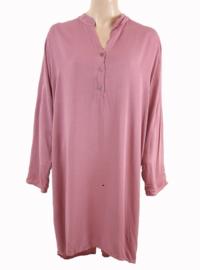Tuniek-jurk oud roze