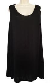 Lang hemd, grote maat, kleur zwart