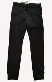 Karostar jogjeans met koord, zwart