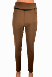 Broek/legging camelbruin