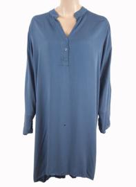 Tuniek-jurk jeansblauw