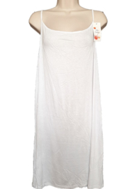 Lang wit hemd /onderjurk