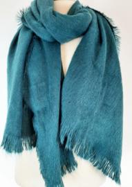 Zachte zeegroene sjaal