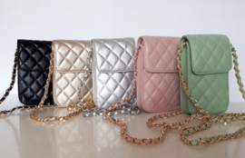Trendy cross-body / festival-tasje in vijf kleuren