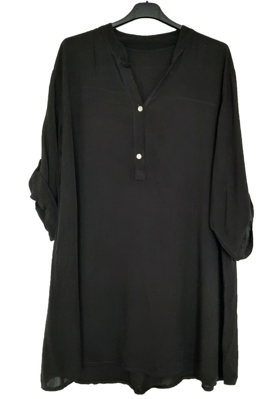 Zwart tuniek