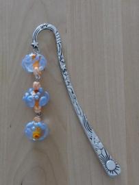 Oranje lavendel wit   -090318-