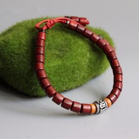 Tibetaans Boeddhistische armband met Gebedswiel en Mantra