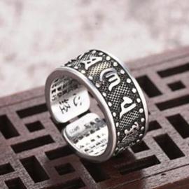 Mantra Ring met Hart Soetra