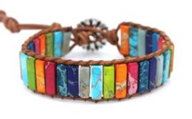 Chakra armband uit India