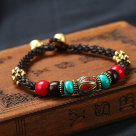 Traditionele Tibetaanse armband