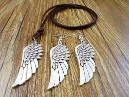 Engelenvleugels stoere sieradenset