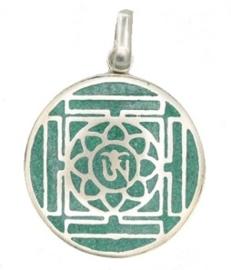 Ohm Mandala Amulet