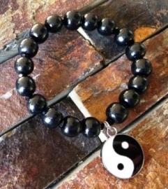 Yin Yang bedel aan armband