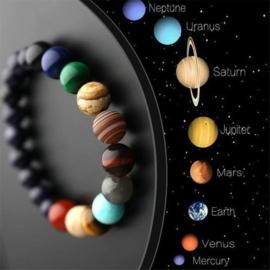 Planeten Armband Kosmos Natuursteen