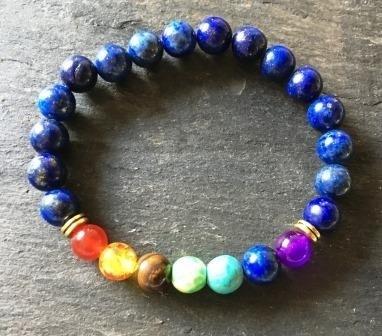 Lapis Lazuli Chakra armband