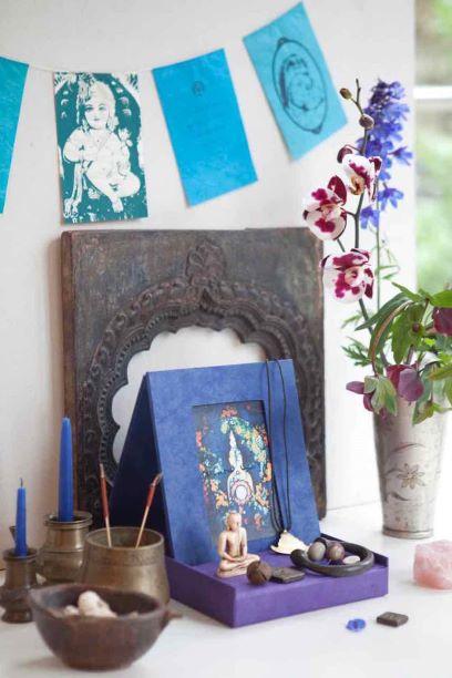 Herinneringsaltaartje uit Nepal