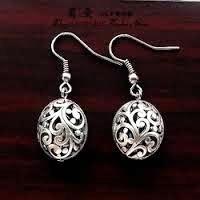 Handgemaakte Tibetaanse oorbellen