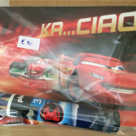 Schetsboek Cars + Potloden Playmobiel