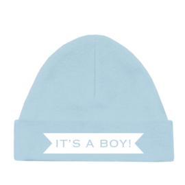 Babymutsje it's a boy