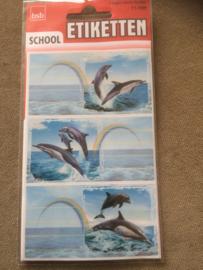 Etiketten Dolfijnen