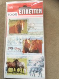 Etiketten Paarden