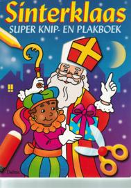 Sinterklaas knip-en plakboek