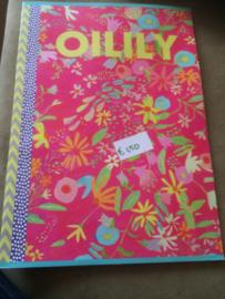 A4 schrift gelinieerd Oilily