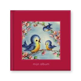 Poeziealbum Mijn album  Rood