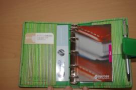 Succes Organizer Junior Stripes Groen