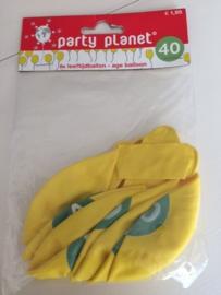 Set 8 st.  ballonnen  40 jaar