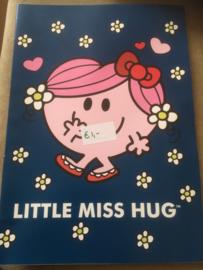 A4 schrift gelinieerd Little Miss Hug