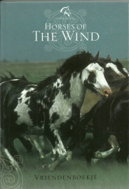 Vriendenboekje Horses of the Wind