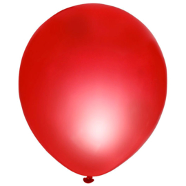 Set 10 st. ballonnen rood