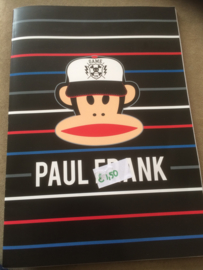 Paul Frank A4 schrift gelinieerd