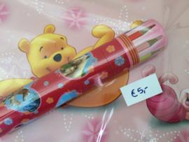 Schetsboek Winnie the Pooh   + Potloden Paarden