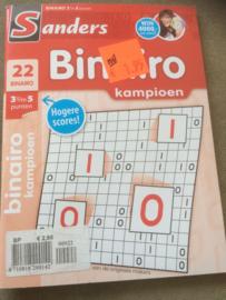 Binairo deel 22