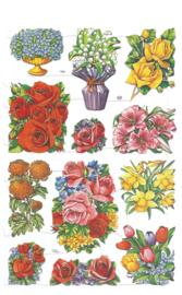 Poezieplaatjes  Bloemen 3 MLP  1579