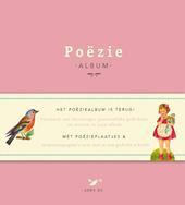 Poeziealbum met poezieplaatjes