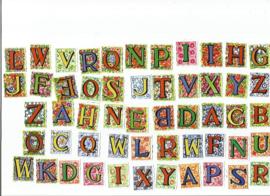 Setje poezieplaatjes los Alfabet