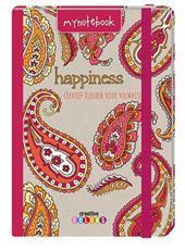 My notebook - Happiness, kleuren voor volwassenen