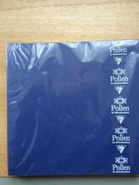 Kaarten vierkant 160x160mm Donkerblauw