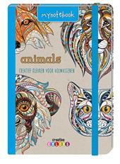My notebook - Animals, kleuren voor volwassenen