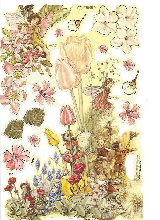 Poezieplaatjes Flower Fairies 5 MLP 2041