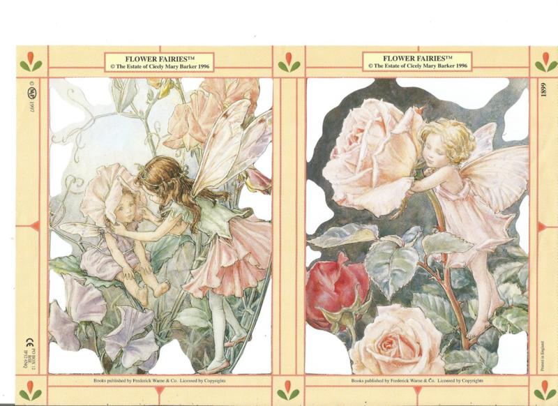 Poezieplaatjes Flower Fairies 1 MLP 1899